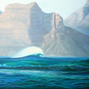 Sunset Wave by Michelle Douglas 2012